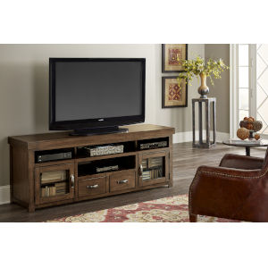 Navaro Sienna Pine 74-Inch Entertainment Console
