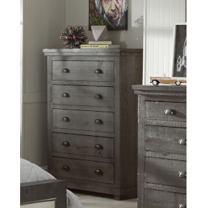 Willow Distressed Dark Gray Chest
