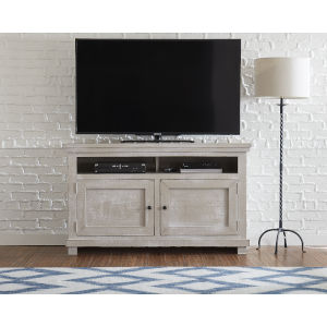 Willow Gray Chalk 54-Inch Console