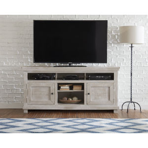 Willow Gray Chalk 64-Inch Console