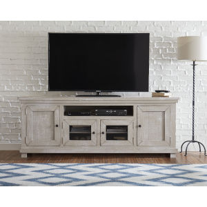 Willow Gray Chalk 74-Inch Console