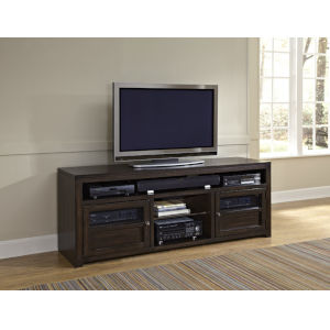 Triumph Walnut Brown Entertainment Console