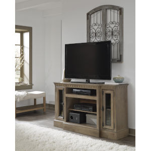 Andover Court Antique Mist 54-Inch Entertainment Console