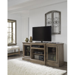 Andover Court Antique Mist 74-Inch Entertainment Console
