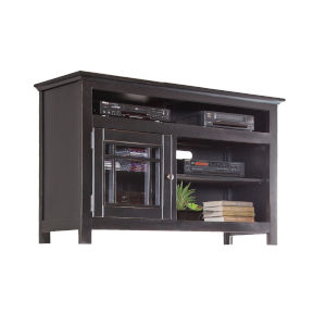 Emerson Hills Black 54-Inch Entertainment Console