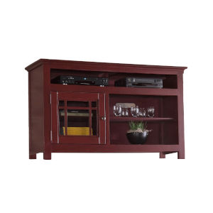 Emerson Hills Red 54-Inch Entertainment Console