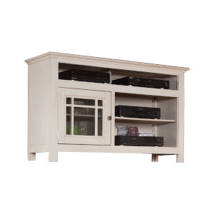 Emerson Hills White 54-Inch Entertainment Console