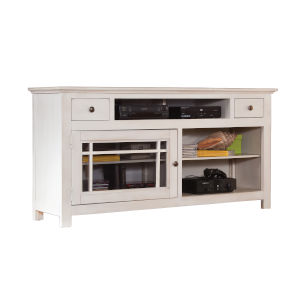 Emerson Hills White 64-Inch Entertainment Console