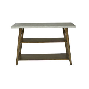 Jackson Concrete Gray Auburn Console Table