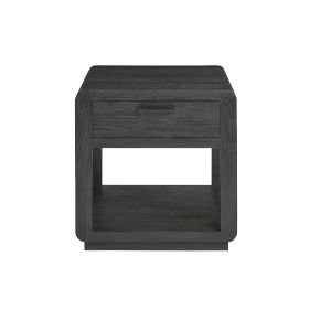 Allure II Cerused Ebony End Table