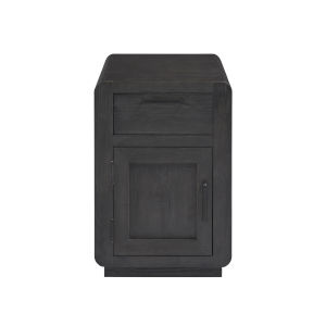 Allure II Cerused Ebony Chairside Chest