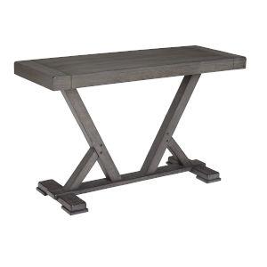 Fiji Harbor Gray Console Table