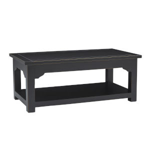 Teresa Vintage Black Rectangular Cocktail Table