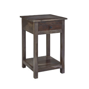 Passport Dark Ombre Chairside Table