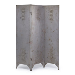 Aged Gunmetal Room Divider/Screen