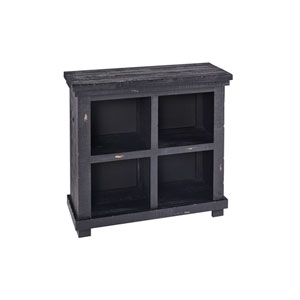 Willow Bookcase 32H Black
