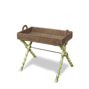 Gabby Tray Chairside Table - Green