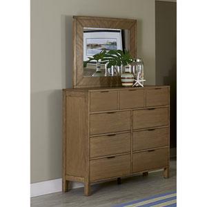Drawer Dresser and Mirror