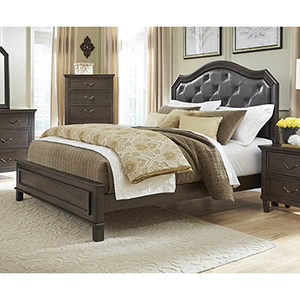 Brixton Queen Upholstered Complete Bed