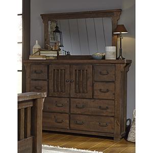 Forrester Door Dresser and Mirror