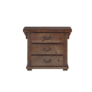 Forrester 3 Drawer Nightstand