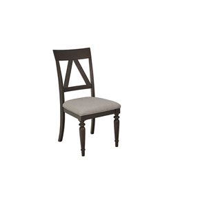 Postiano Walnut and White Dining Chairs