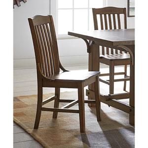 Medium Oak Dining Chair, Set of 2