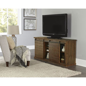 Huntington Distressed Pine 64 Inch Console