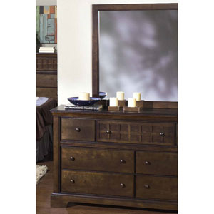 Casual Traditions Drawer Dresser and Mirror