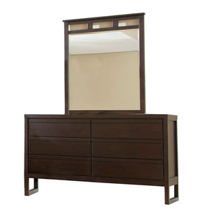 Athena Dark Chocolate Dresser