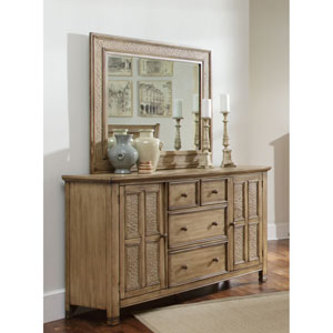Kingston Isle Door Dresser and Mirror