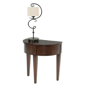 Chairsides Brown Chairside Table