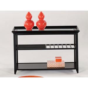 Sandpiper Black Console Table