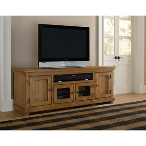 Willow Distressed Pine 74-Inch Console