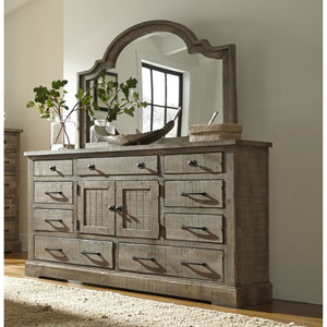 Meadow Door Dresser and Mirror