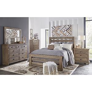 Complete Queen Slat Bed
