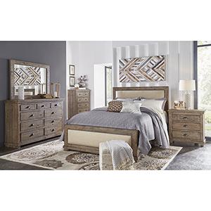 Complete King Upholstered Bed