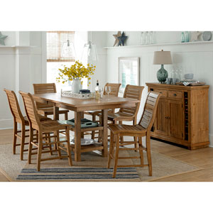 Willow Distressed Pine Counter Chair, Set of 2