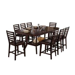 Bobbie Dark Espresso Counter Dining Table