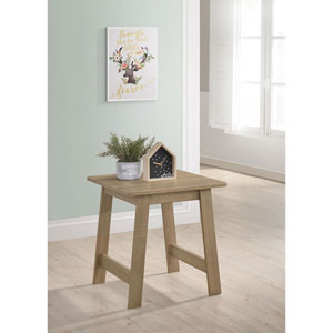 Matt Craftman Oak End Table