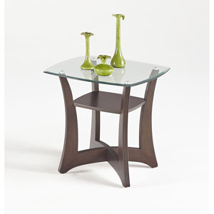 Abacoa Square Lamp Table