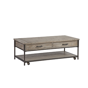 Linsley Washed Elm Cocktail Table