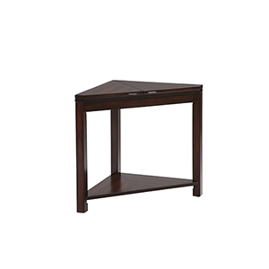 Chairsides II Dark Birch Chairside Table