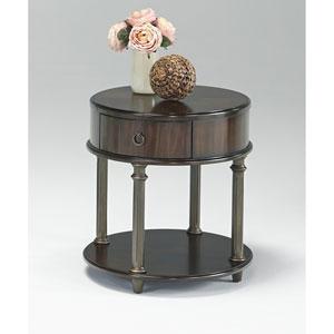 Regent Cherry Round Chairside Table