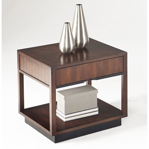Sophisticate Square Lamp Table