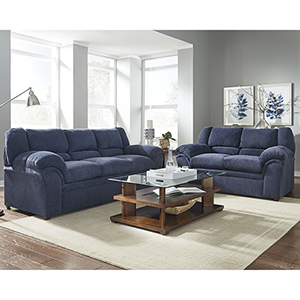 Big Ben Indigo Loveseat