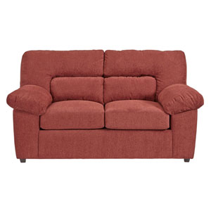Progressive Furniture Duke Red Chenille Sofa U2071 Sf | Bellacor