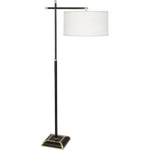 Ranger Matte Black Painted Two-Light Floor Lamp