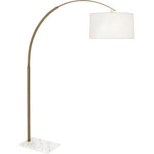 Archer Warm Brass Two-Light Floor Lamp