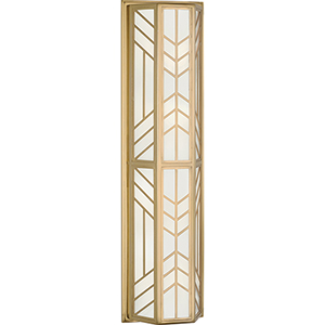 Octavius Modern Brass  Seven-Inch Four-Light Wall Sconce